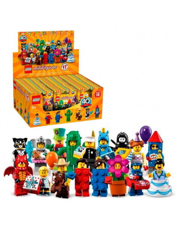 Lego 71021 Minifigures Fiesta Serie 18 5702016108651