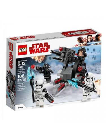 Lego 75197 Pack De Combate De Especialistas De La Primera Orden