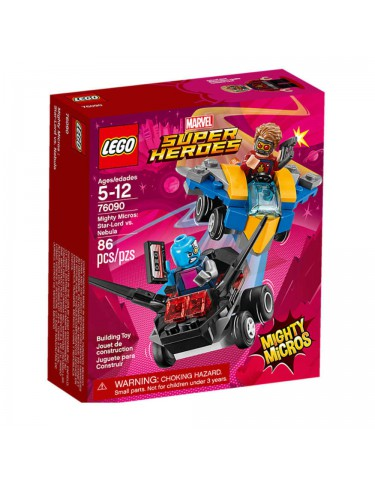 Lego 76090 Mighty Micros: Star-Lord Vs. Nebula 5702016110517