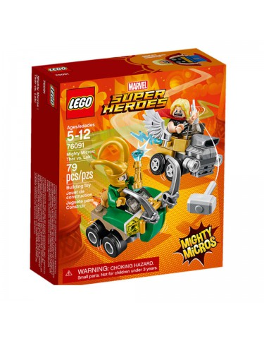 Lego 76091 Mighty Micros: Thor Vs. Loki 5702016110500