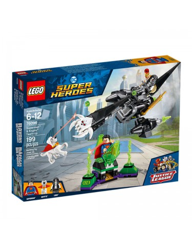 Lego 76096 Superman™ Y Krypto™: Equipo De Superhéroes