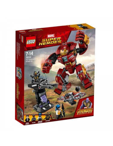 Lego 76104 Hulkbuster Smash Up 5702016110562