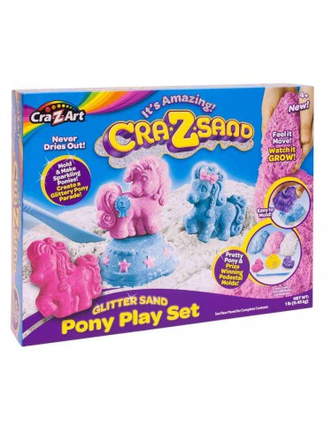 Crazsand Pony Playset 884920195530