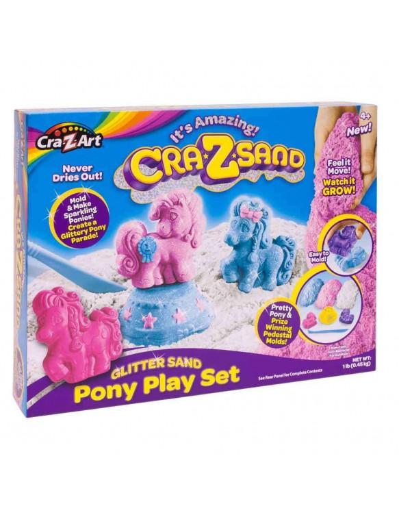 Crazsand Pony Playset 884920195530