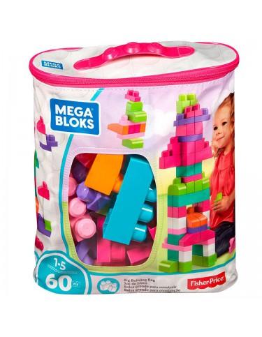 Mega Blocks Bolsa 60 Rosa 65541084179