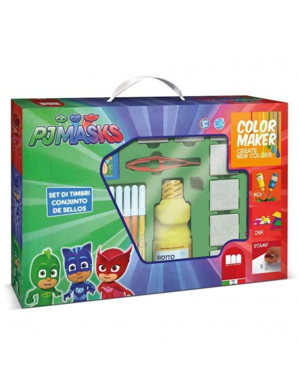 PjMasks Color Maker 7 Sellos 8009233469549