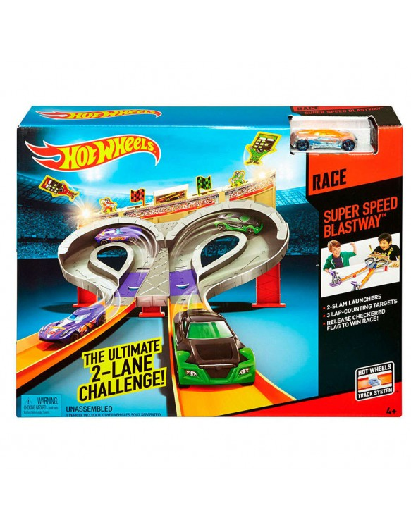 Hot Wheels Super Speed Blust 887961044614