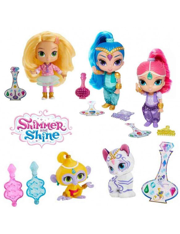 Shimmer y Shine Muñecas 887961258615