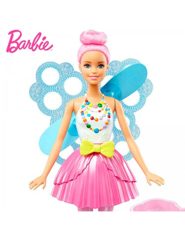 Barbie Hada Burbujas Mágicas 887961372618