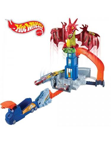 Hot Wheels Dragón Attack 887961384154