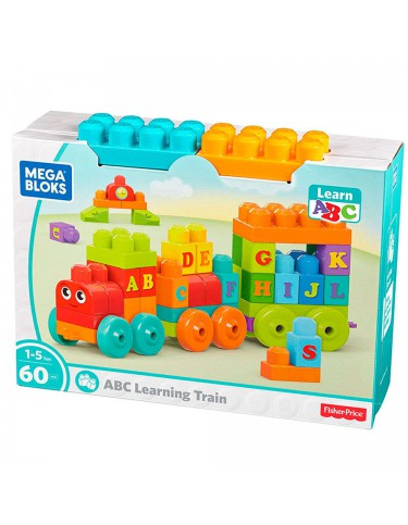 Mega Blocks Tren de Aprendizaje ABC 887961397123
