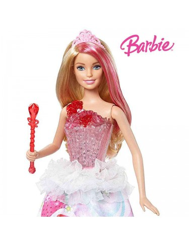 Barbie Princesa Destellos Dulces 887961424638