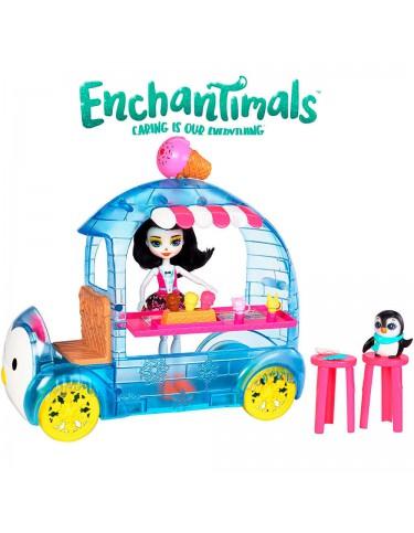 Enchantimals Frena Penguin y su Heladeria 887961553352