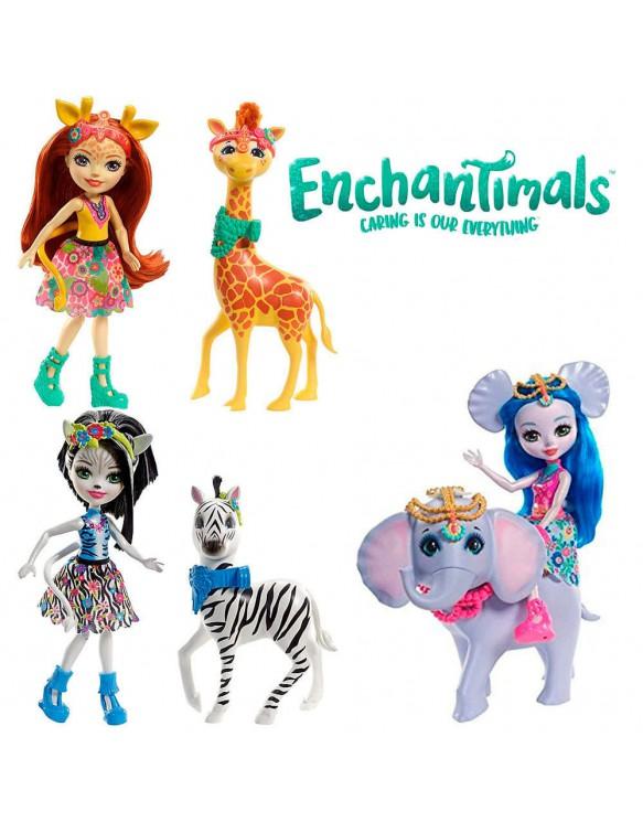 Enchantimals Muñeca con Animales 887961553499