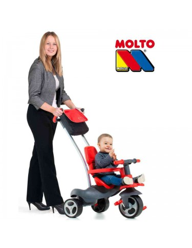 Triciclo Urban Trike Soft Rojo 8410963172003