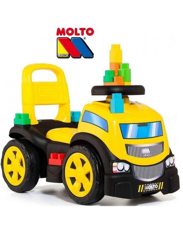 Correpasillos Camión con 10 Blocks 8410963172201