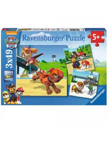 Patrulla Canina Puzzle 3x49pz 4005556092390