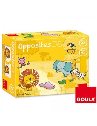 Juego Contrarios Animales Goula 8410446534373