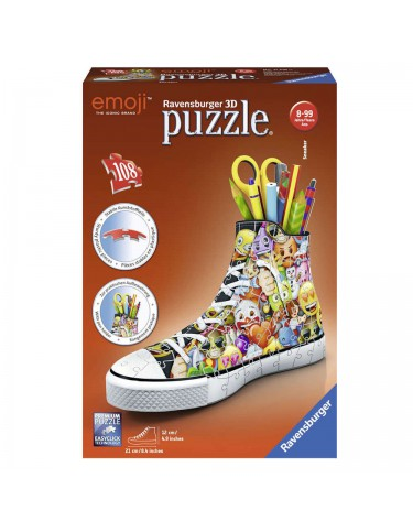Sneaker Emoji Puzzle 3D Portalápices 4005556112180