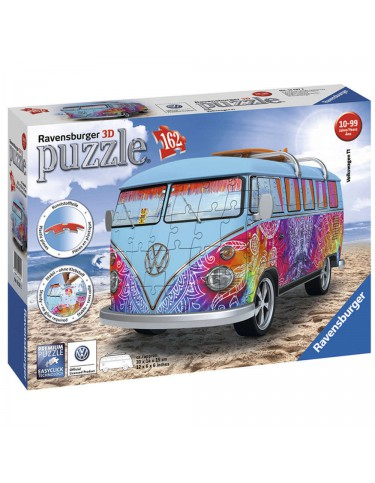 Camper Volkswagen 3D Puzzle Indian Summer