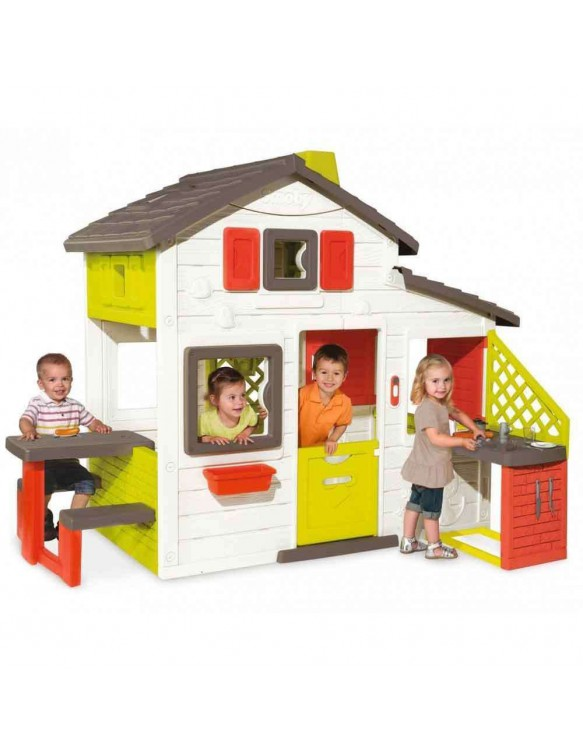 Casa de Juegos con Cocina Smoby 3032168102002