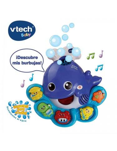 Ballenita Burbujas Vtech 3417761460221