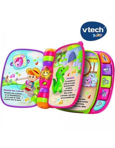 Libro Primeras Canciones Vtech 3417761667224