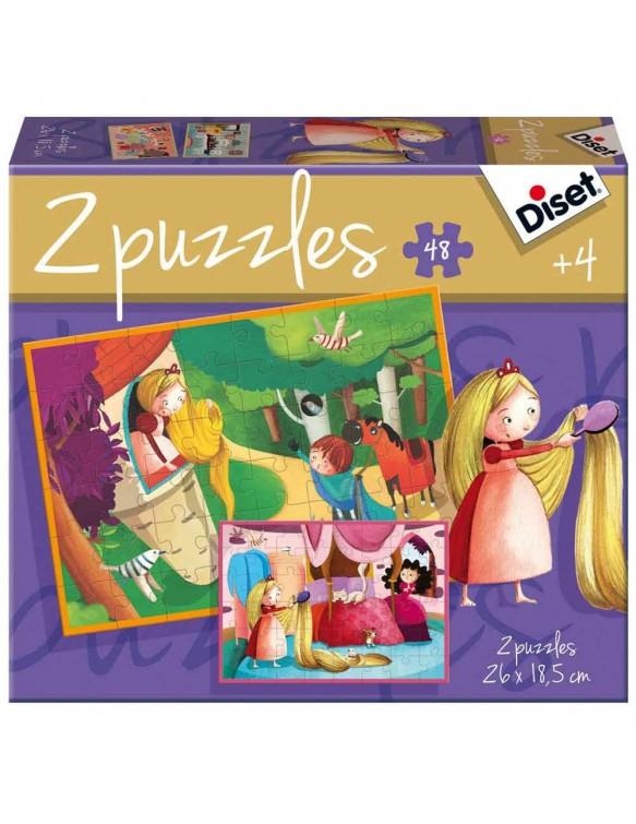 Rapunzel 2x48pz 8410446699690