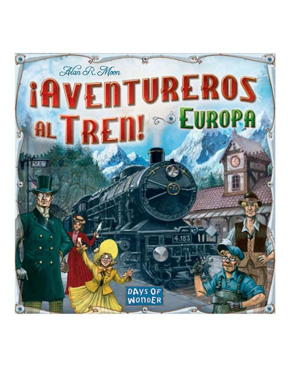 Aventureros al tren de Europa 824968717127