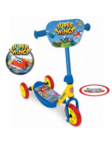 Patinete 3 Ruedas Super Wings 3517132228471