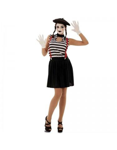Disfraz Mimo Mujer Adulto M-L 8435408205665