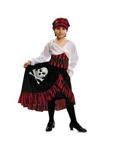 Disfraz Pirata Niña Bandana 10-12 años 8435408205863