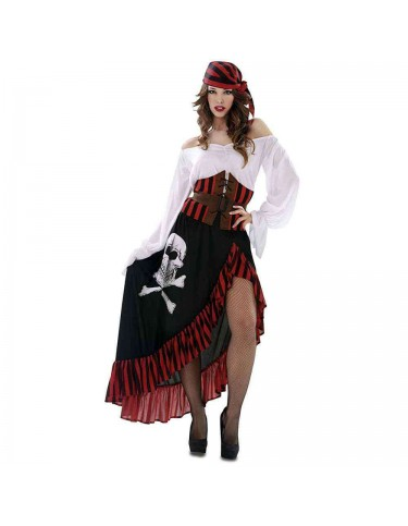 Disfraz Pirata Bandana Mujer M-L