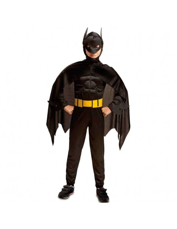Disfraz Blackman Musculoso 5-6 años 8435408207607