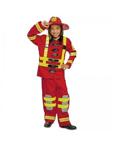 Disfraz Bombero 3-4 años 8435408209090