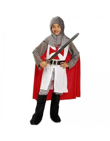 Disfraz Caballero Medieval Con Capa 10-12 años 8435408211673