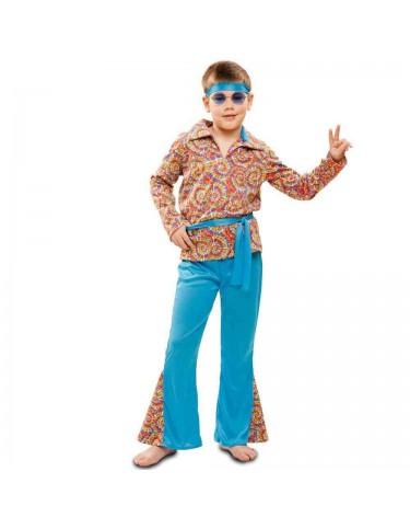 Disfraz Hippie Psicodélico 5-6 años 8435408219808