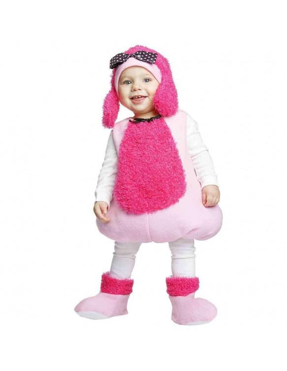 Disfraz Pequeña Poodle Rosa 1-2 años 8435408241991