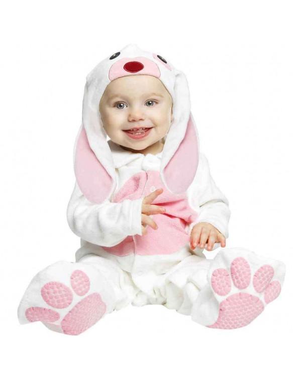 Disfraz Pequeño Conejito Rosa 7-12 meses 8435408243117