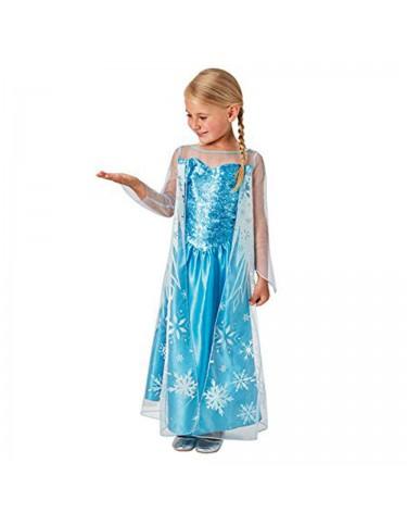 Elsa Disfraz T.M 5-6 años 883028162536