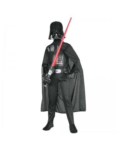 Darth Vader c/máscara Disfraz T.S 3-4 años 883028200955