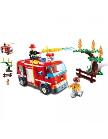 Construcción Camión Bomberos 229 Pzas