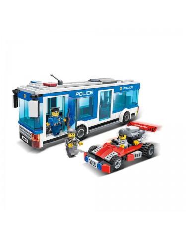 Construcción Autobús Policía 256 Pzas 5022849738031