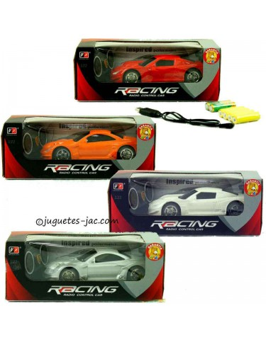 Racing Car R/C Luz y Usb 5022849737461