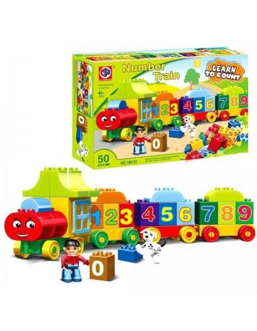Construcción Tren de Números 9421152913115