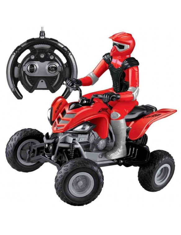 Quad Rojo con Piloto Radio Control 9420044380615
