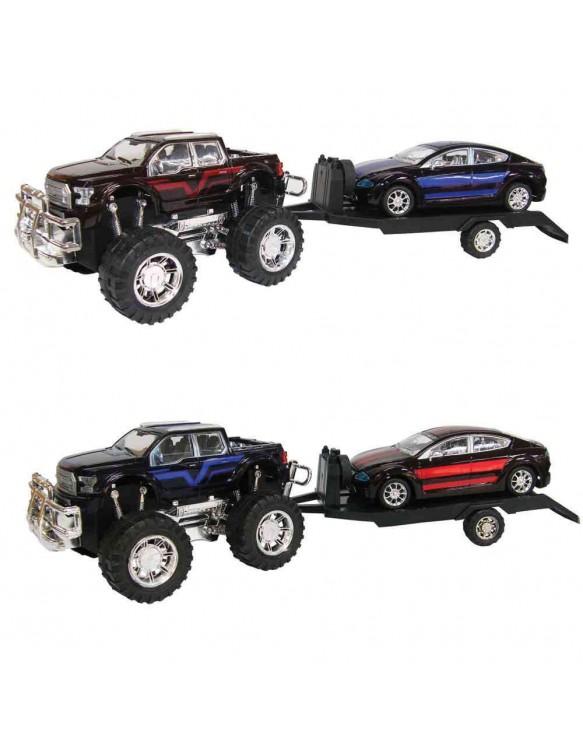 Coche 4x4 con Remolque y Vehículo 715843150934