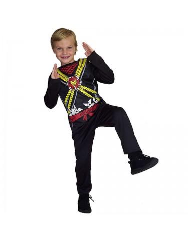 Disfraz Ninja Negro 5 a 7 años 4893884760216