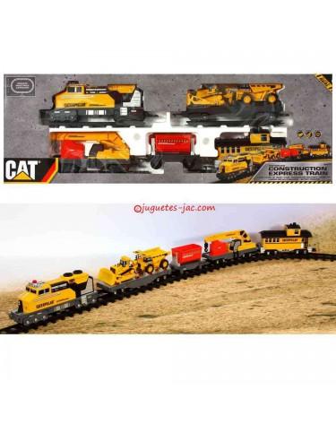 Tren de Construcción con Vias 11543556503