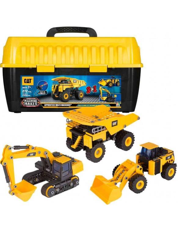 Maletín Monta tu vehículo de Obras 11543809517